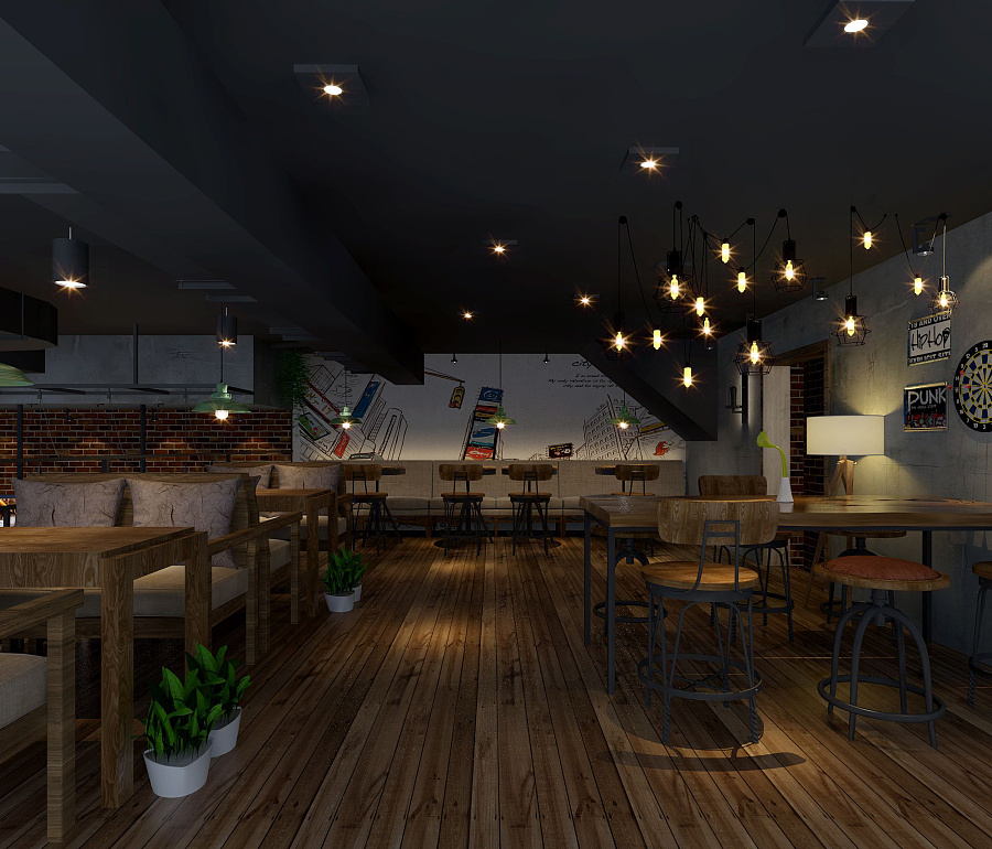 《YULIN-CAFE咖啡厅》设计案例赏析