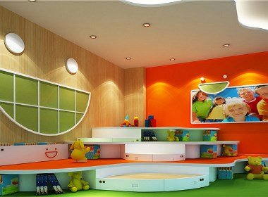 哈哈贝贝早教俱乐部-合作专业特色早教中心装修设计公司-古兰装饰