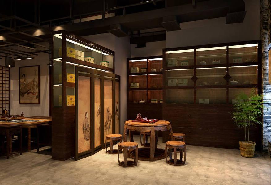 成都茶楼设计,成都茶楼装修,成都茶楼装修设计-知了茶艺会所