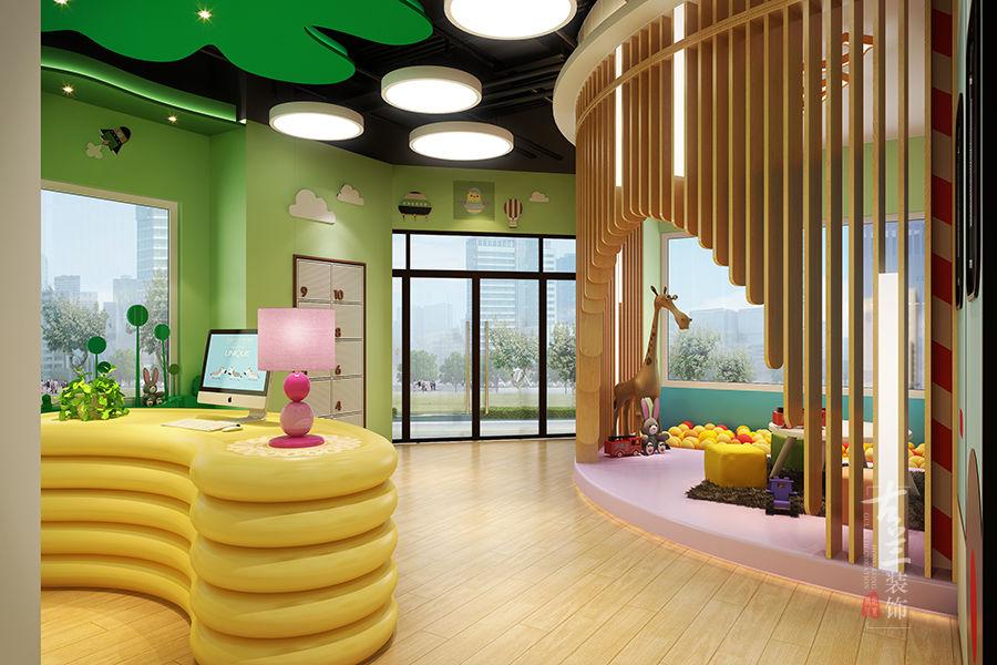 爱尔丝早教中心-合作专业特色早教中心装修设计公司-古兰装饰