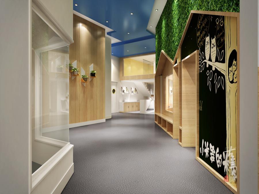 泸州红黄蓝亲子园早教中心-合作专业特色早教中心装修设计公司-古兰装饰