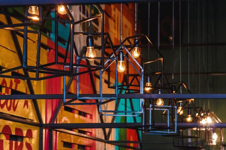 《pizza 咖啡馆》成都特色咖啡厅装修设计|成都咖啡厅装修设计公司|古兰装饰