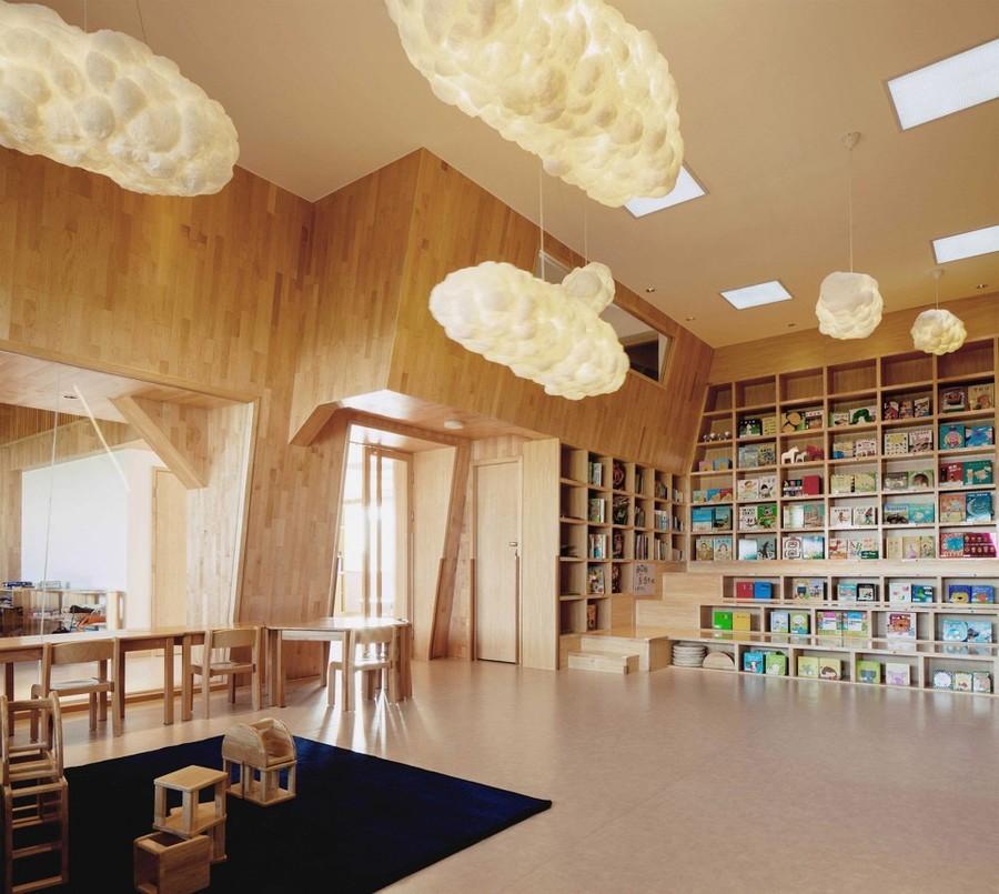 门第书香阅读早教中心-合作专业特色早教中心装修设计公司-古兰装饰