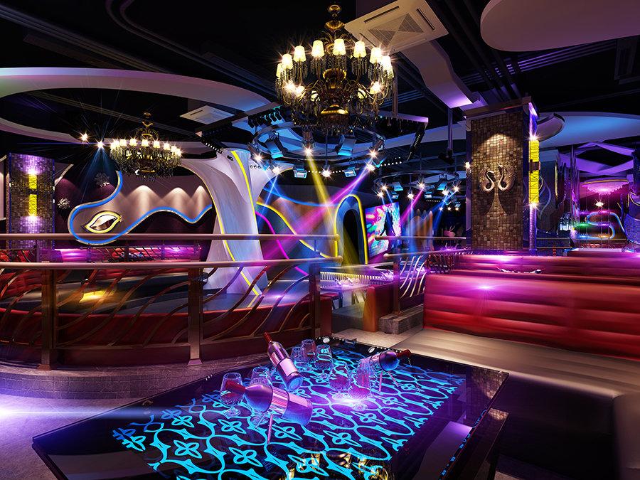 A1慢摇吧--文山酒吧装修设计公司--古兰装饰