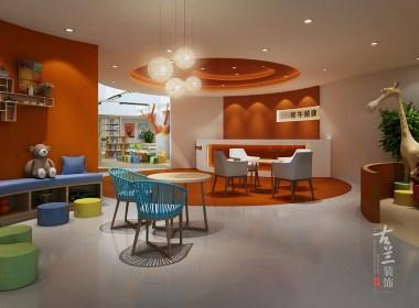 犀牛阅读早教中心-合作专业特色早教中心装修设计公司-古兰装饰