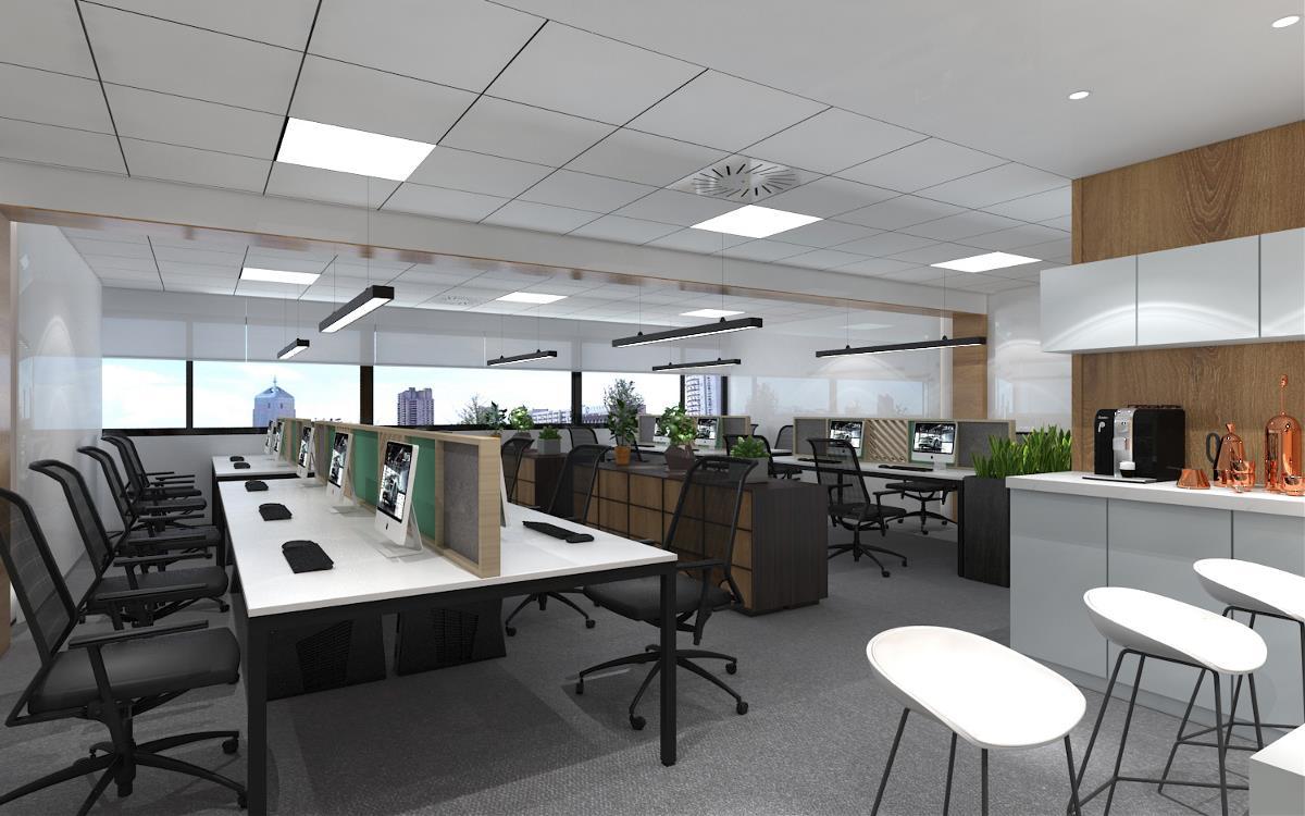 办公空间设计——北京泰益德办公楼