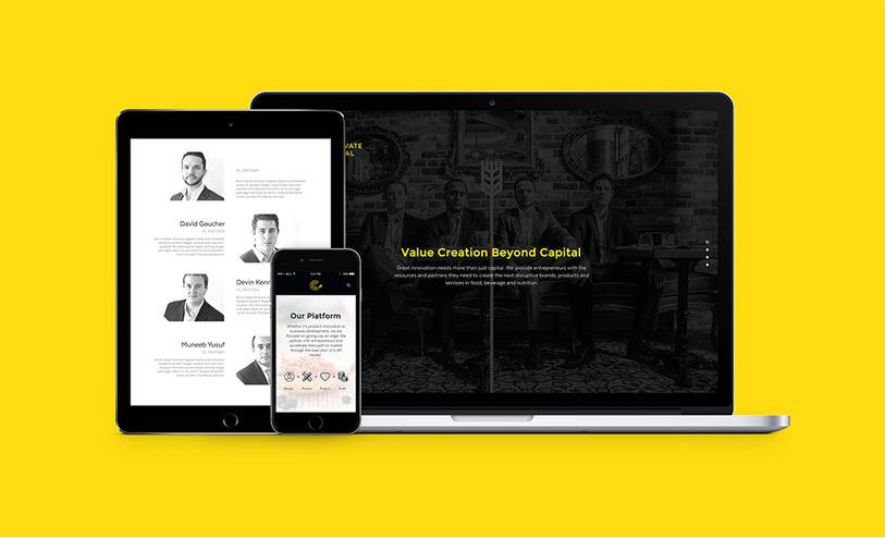 Cultivate Capital品牌形象视觉设计