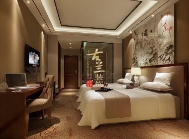 珠峰酒店设计案例赏析——成都专业精品酒店设计|古兰装饰