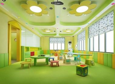 精灵宝贝幼儿园-临夏专业特色幼儿园装修设计公司-古兰装饰