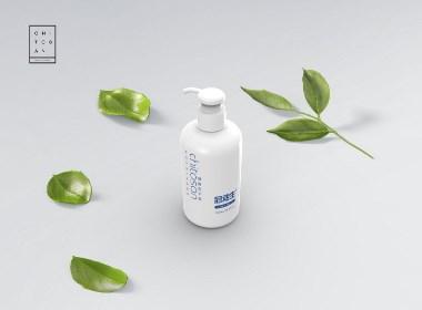洗发水 护发素 洗衣液 沐浴露 洗护系列包装设计