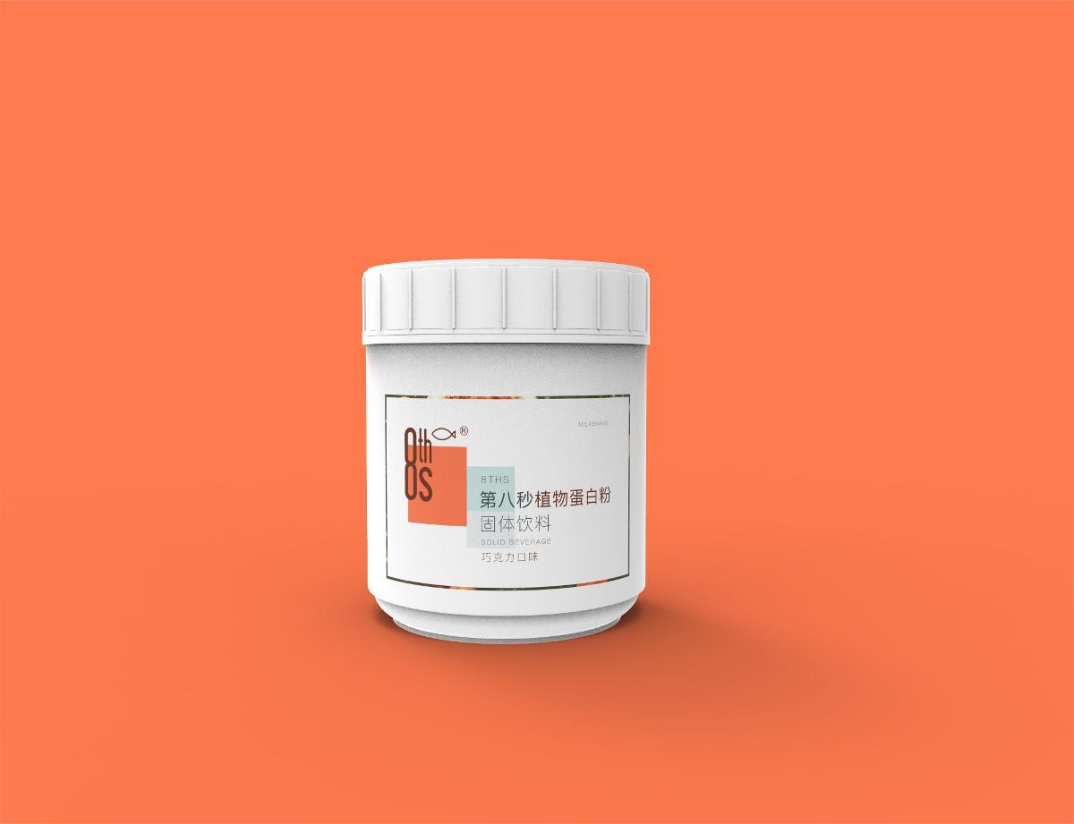 奶昔 蛋白粉 品牌包装设计