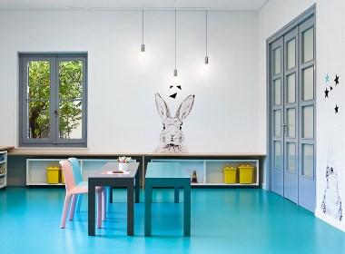 动物王国幼儿园-临夏专业特色幼儿园装修设计公司-古兰装饰