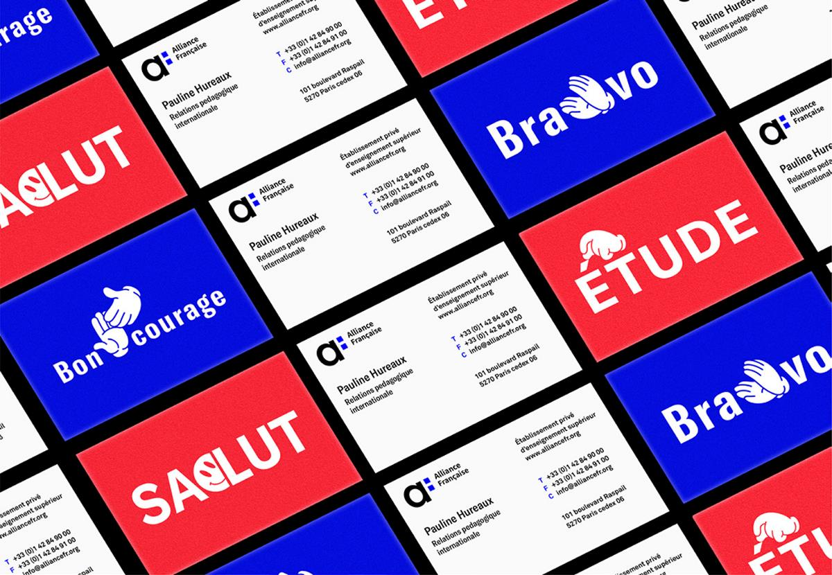 Alliance Française法语联盟品牌视觉形象设计 