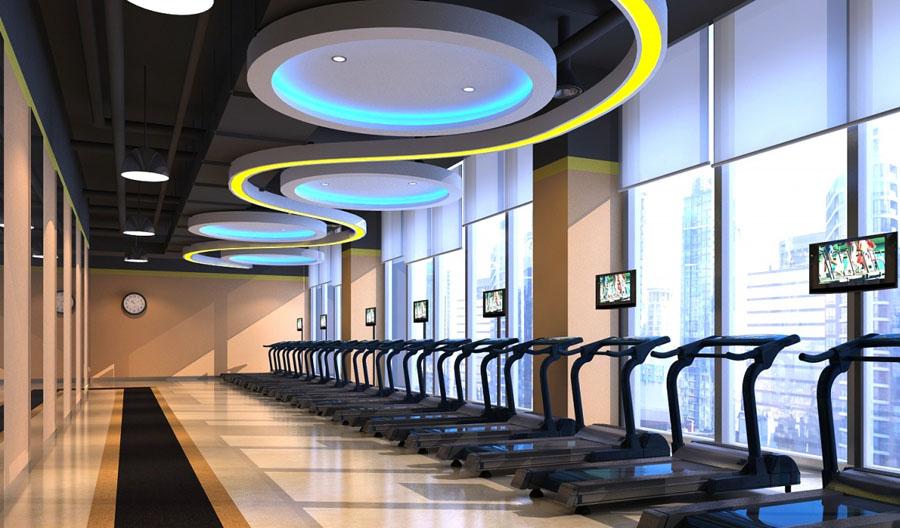 陇南专业特色健身房装修设计公司 古兰装饰