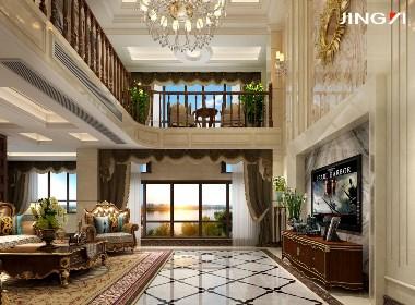 景逸效果图设计——家装欧式效果图