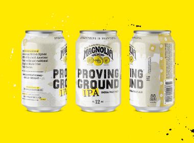 Magnolia Brewing 产品包装设计   摩尼视觉分享