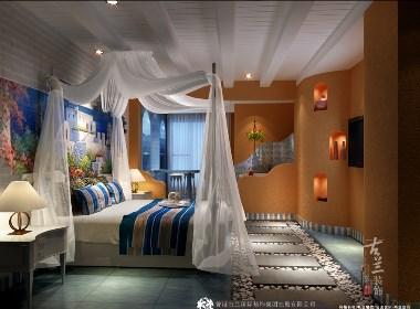 《爱琴海主题酒店》古兰装饰原创设计——成都专业主题酒店设计公司