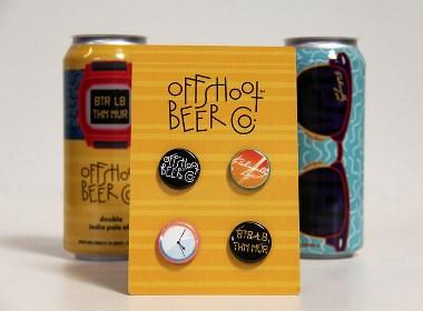 OFFSHOOT BEER 产品包装设计   摩尼视觉