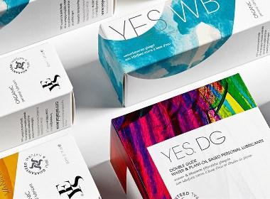YES rebrand 化妆品包装设计