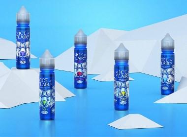 Ice Lair冰巢电子香烟液体油品牌包装设计