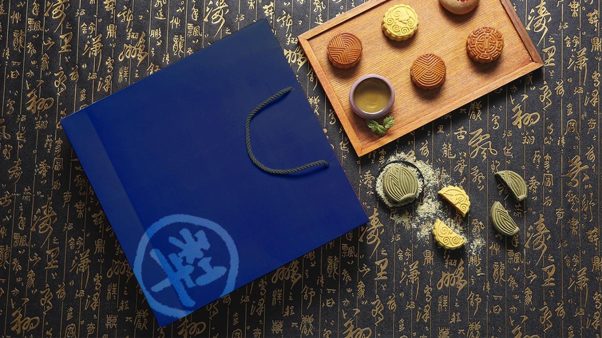 百年品牌台北犂记月饼包装设计【金鼎尊月系列】   摩尼视觉原创作品