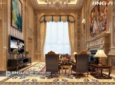 景逸效果图设计——家装奢华欧式效果图