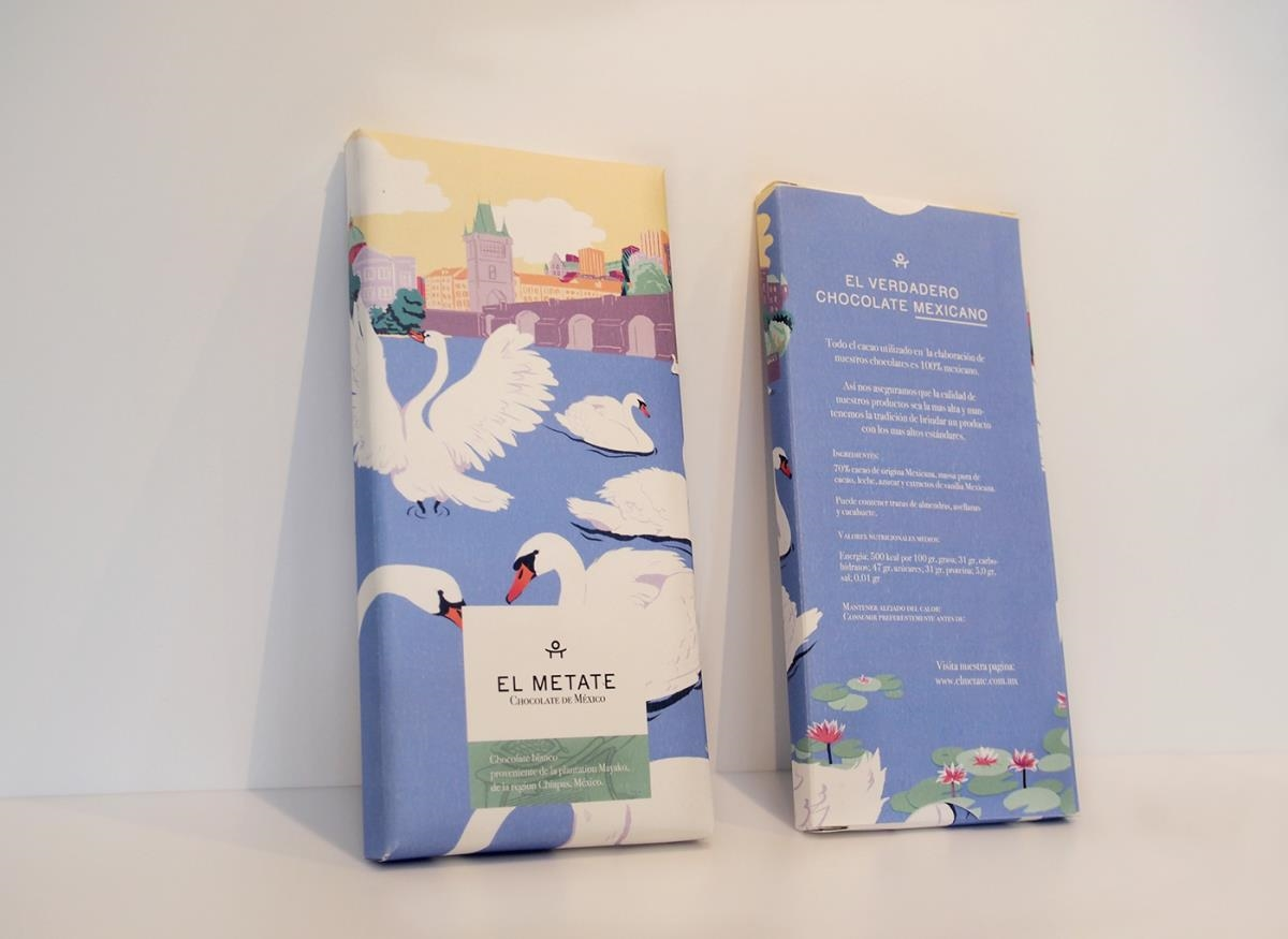 El Metate巧克力品牌包装设计
