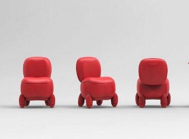 苋菜染制的皮革座椅