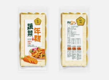 年糕包装设计 郑州食品包装设计