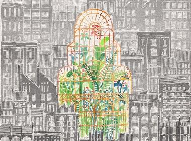 城市森林—插画欣赏