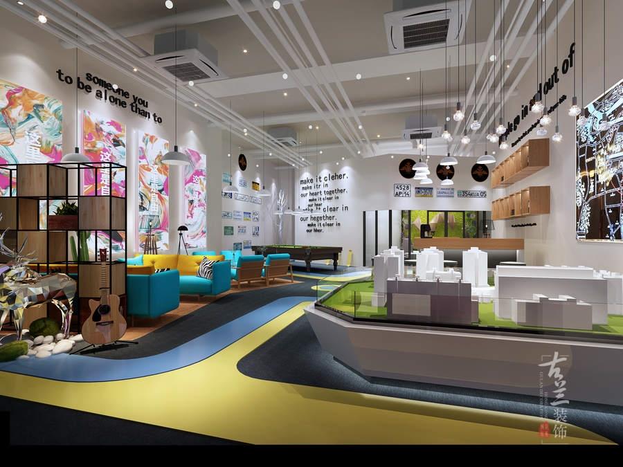《天水售楼部》成都展厅设计|成都展厅设计公司|古兰原创