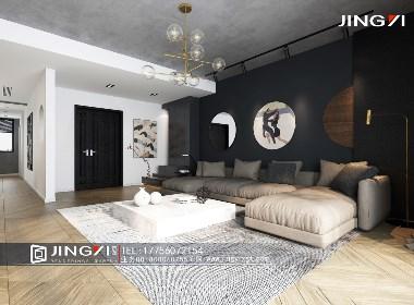 景逸效果图设计——家装黑白灰效果图