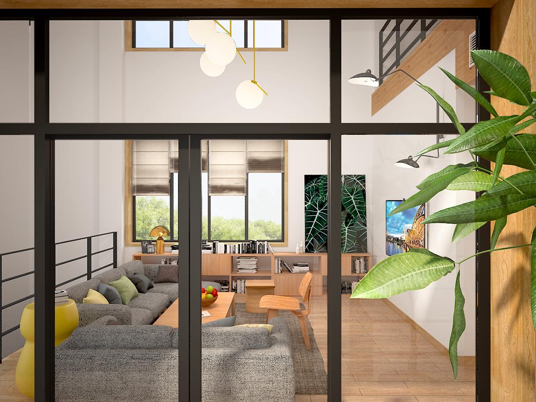北欧日式原木风格住宅设计-前意识叶平设计文章