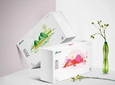 秦巴山茶叶包装,厚启设计,西安茶叶包装设计公司