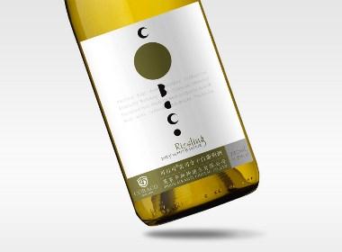 蓬莱卡斯特酒庄.可百可品牌全案包装设计开发设计  古一设计