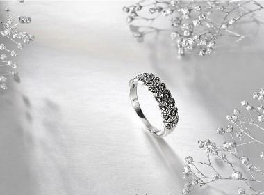 银饰品拍照 珠宝首饰摄影
