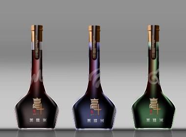 高斗黑糯米酒  贵州产品包装设计, 大典创意设计