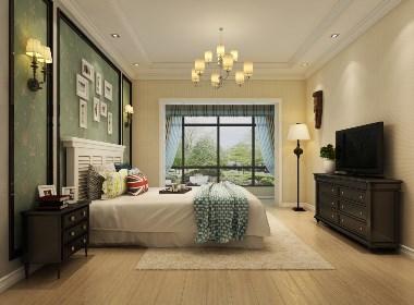 不同风格  卧室效果图