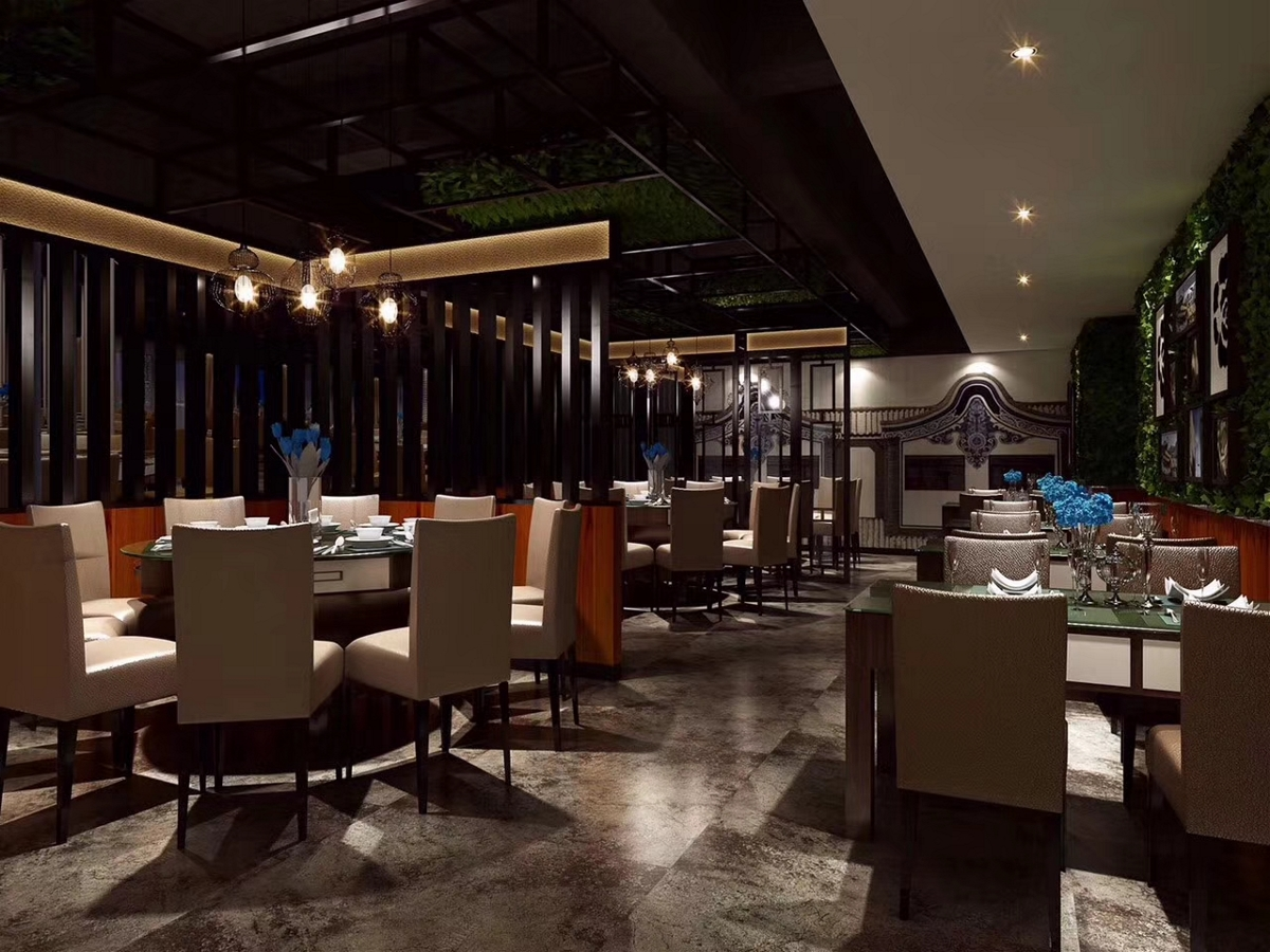 《商场内餐厅效果设计》成都特色餐厅设计装修|成都专业餐厅装修设计