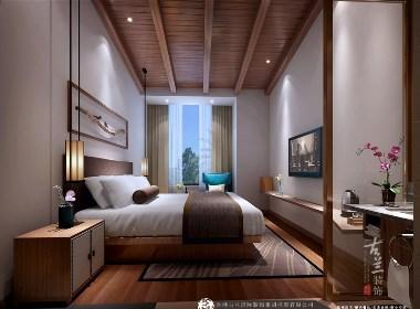 贵州松桃SXS精品酒店--中卫精品酒店装修设计公司--古兰装饰