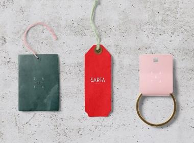 土耳其Sarta Milano女装品牌形象VI设计