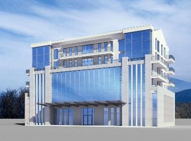 工业园办公楼外观设计