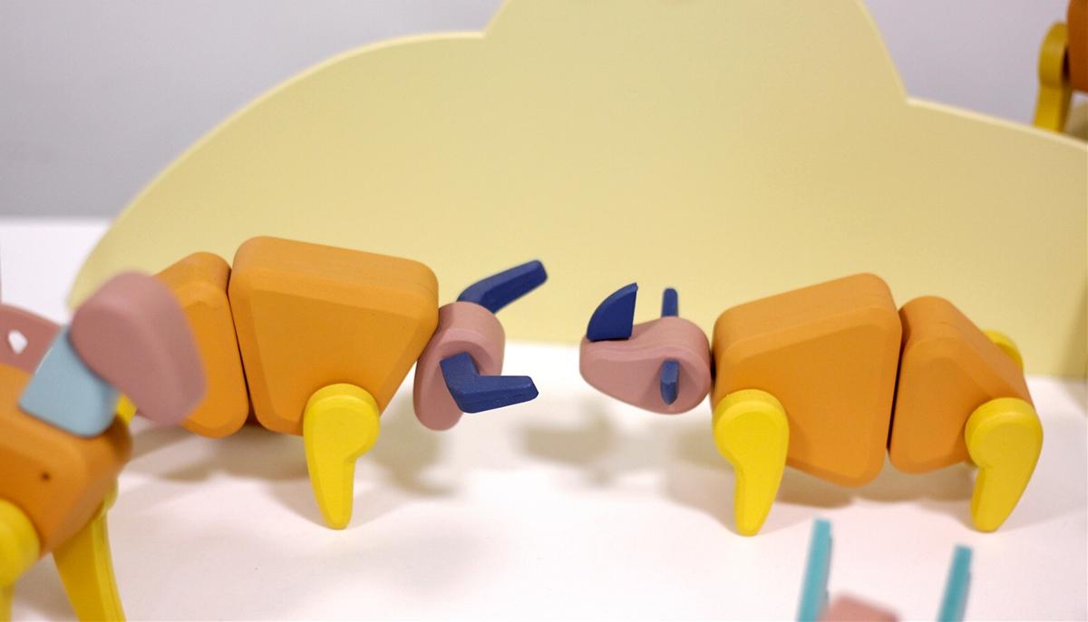动物剧场玩具产品设计