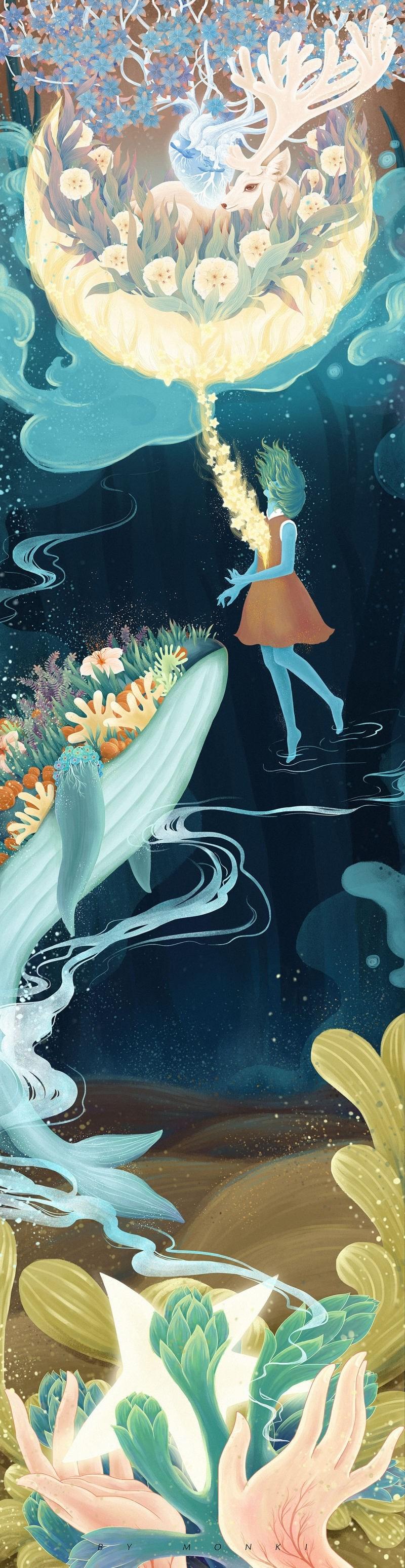 《星梦,你的故事》之《明镜》长篇插画欣赏