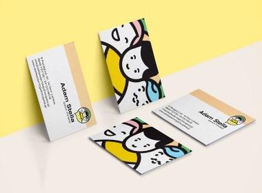 Adam Stella一位言语治疗师的品牌设计项目 