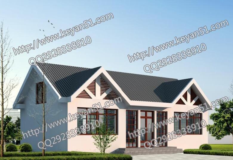 一层农村平房屋设计图_农村造价10万一层平房设计图