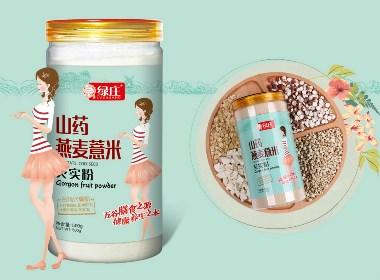 【百纳食品包装设计案例】单品月销2万件的包装怎么做— —徐州绿庄园品牌整合案例