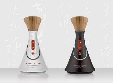 白酒(浏阳河-浏小仙酒)小酒外包装设计