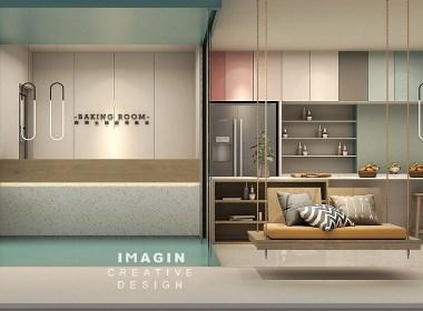 斑斓生活烘焙教室设计