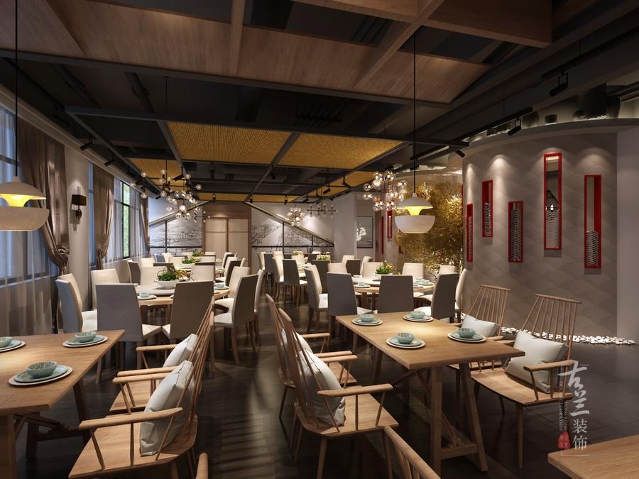 《蓉城小馆》原创设计|兰州专业中餐厅设计公司——古兰装饰